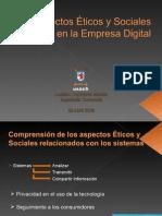 Aspectos Éticos y sociales en la Empresa Digital
