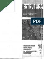 Revista Técnica de Construções Estrutura Prof. Aderson 103