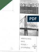 Revista Técnica de Construções Estrutura Prof. Aderson 113