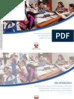 Orientaciones para la Planificación Curricular en   Educación Primaria