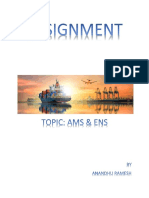 Assignment Ams&Ens