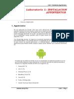 Android Laboratorio-01-2015