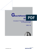Detecon Opinion Paper Geschäftsmehrwert durch IT. Innovative IT-Strategie-Entwicklung für Versicherungen