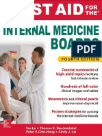 First Aid for the Internal Medicine Boards, Fourth Edition