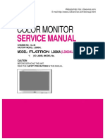 LG monitor L3000A - chassis CL-36