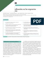 Tipos de Inmovilización en Las Urgencias Extrahospitalarias