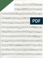 Stravinsky, Variations - Appunti Analisi