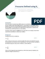 Pore-Water Pressure Defined Using Ru