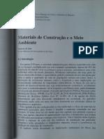 04 - Materiais de Construção e o Meio Ambiente