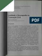 02 - Qualidade e Desempenho Na Construção Civil