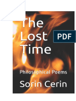 The Lost Time-Philosophical poems by Sorin Cerin