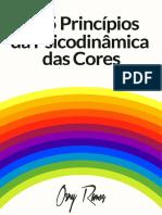 Os 5 Princípios da Psicodinâmica das Cores (Osny Ramos)
