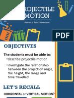 DLP Projectile Motion