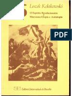 Leszek Kolakowski - O Espirito Revolucionario e Marxismo-Utopia e Antiutopia.pdf