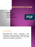 Glomerulnefritis Kronis