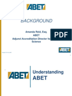 CMAA Conf ABET Background