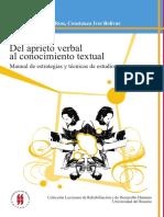 Del Aprieto Verbal Al Conocimiento Textual (Manual de Técnicas de Estudio)