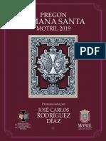 PREGÓN SEMANA SANTA MOTRIL 2019 - Por Juan Carlos Rodríguez