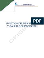 POLÍTICA DE SEGURIDAD Y SALUD OCUPACIONAL  mvd.docx