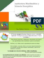 Arq Bioclimatica y Eficiencia Energética