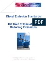Diesel Emission Standards Reducing Emissions