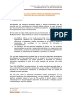 Auditor Interno HSEQ Virtual 45001