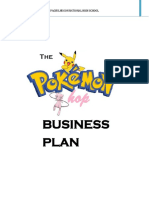 Pokemon Shop Business Plan