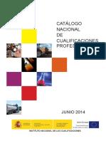 Catalogo Nacional Cualificaciones Junio 2014 PDF