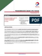 Transmission Gear 9 Fe 75w-80 Tds (2)