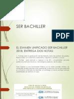 Ser Bachiller