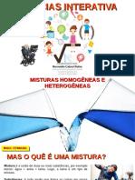 Misturas Homogêneas e Heterogêneas