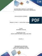 Unidad 3 Paso 4 Ejecución y Desarrollo Omar Rodríguez