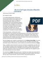 ConJur - Entrevista_ Adriana Gomes Rêgo, presidente do Carf.pdf