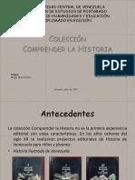 Presentación Colección Comprender La Historia