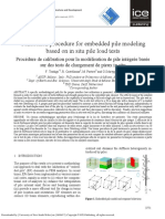 [PAPEr] Tradigo F., Castellanza R., e.a. [2015] No Access Calibration Procedure for Embedded Pile Modeling Based on in Situ Pile Load Tests - 10.1680@Ecsmge.60678.Vol7.594