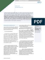 El Examen de La Orina de Sedimentos en El Dx y Manejo de La Enfermedad Renal