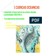 Mar Abierto Cuencas y Fosas