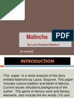 Malinche Excerpt Power Point