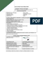 Lista de útiles 3° básico_8524d9