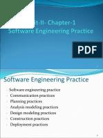 Software Engineering chapter 5 ppt pressman