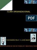 palestra clima organizacional