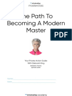 The Path to Becoming a Modern Master by Deborah King Workbook