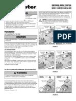 Manual Liftmaster 312-412