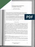 Legitima Defensa y Estado de Nec Villegas y Sandrini