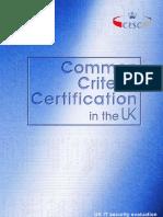 CCCert Comparison ITSEC CC