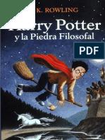 Portada Harry y La Piedra Filosofal
