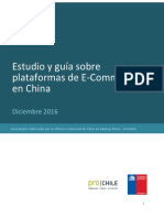 Estudio y Guia Sobre Plataformas de e -Commerce en China