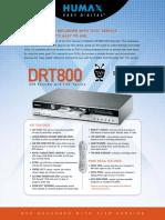 drt800 manual