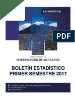 Boletin Estadisticas Primer Semestre 2017