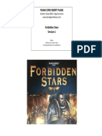 Forbidden Stars Foam Core v1